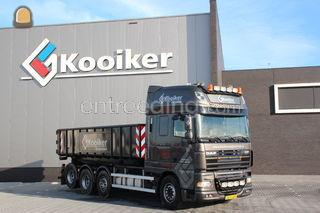DAF containerauto Omgeving Meppel