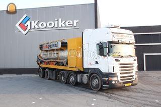 Scania R500 grind zuig-/b... Omgeving Meppel