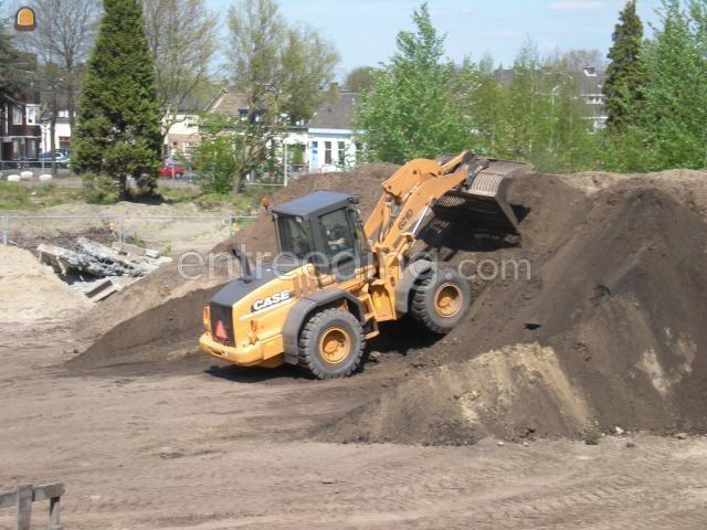 Wiellader / shovel CASE 721 D