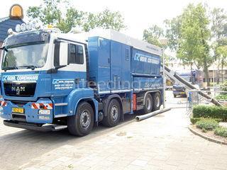Man Graafzuigwagen 8X4 me... Omgeving Breda