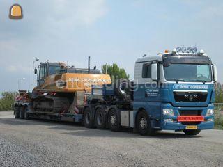 Man 8x4+Pendelx Nooteboom Omgeving Breda