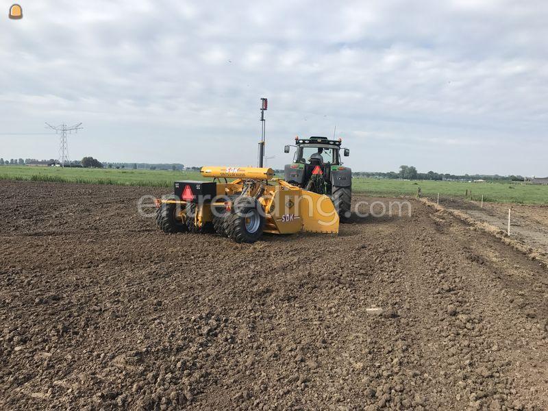 Tractor + Combikilver + GPS