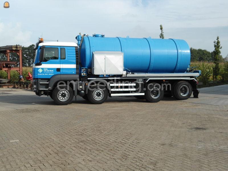 MAN 8x4 tankwagen