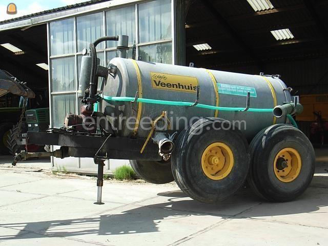 Tractor + waterwagen Fendt + 5 m3 waterwagen