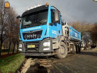 MAN TGS 35.460 Kraanwagen... Omgeving Delft