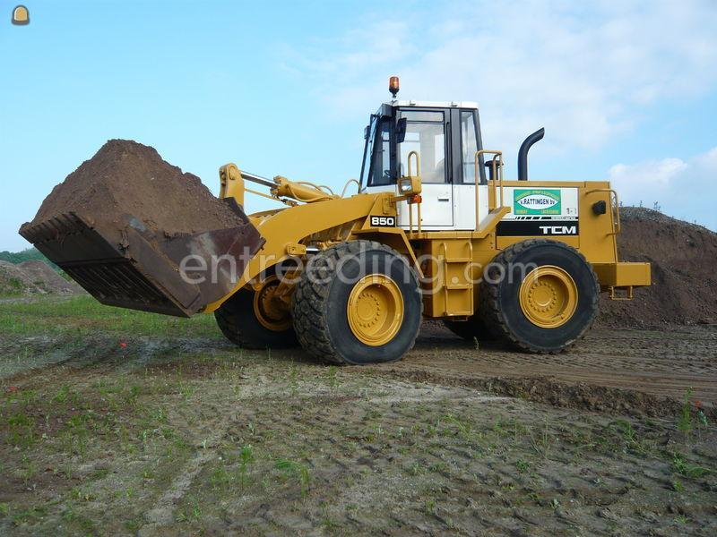 Wiellader / shovel TCM 850II