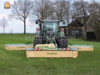 Krone EasyCut 9140 vlinde... Omgeving Hilversum