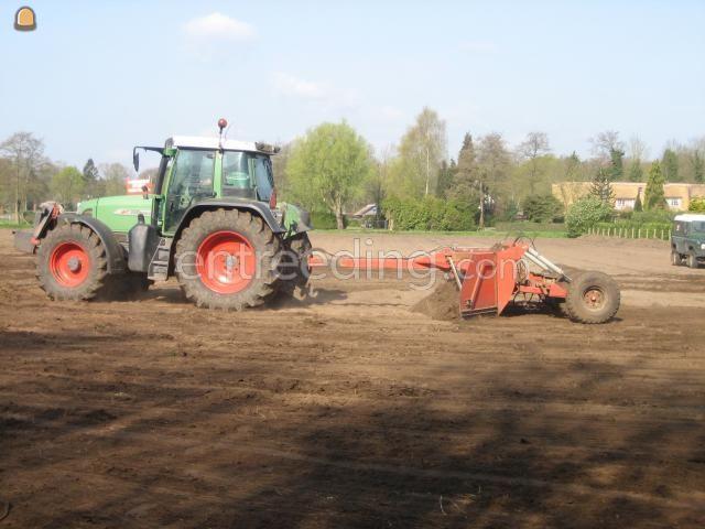 Tractor + kilver bos 5004 U kilverbord
