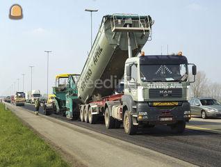 Trekker + oplegger met ge... Omgeving Antwerpen