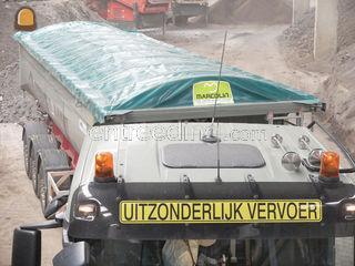 Trekker + oplegger met af... Omgeving Antwerpen