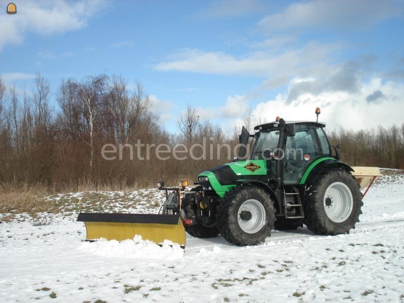 Sneeuwschuiver / Zoutstrooiers Deutz 620 +Schuif & strooier