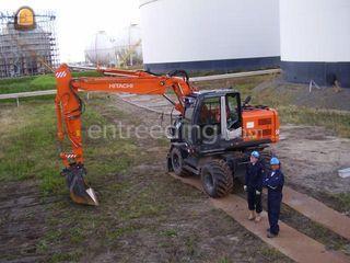 Hitach Zaxis140W + DKS Omgeving Weesp