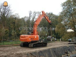 Hitachi Zaxis 210-3 LC Omgeving Weesp
