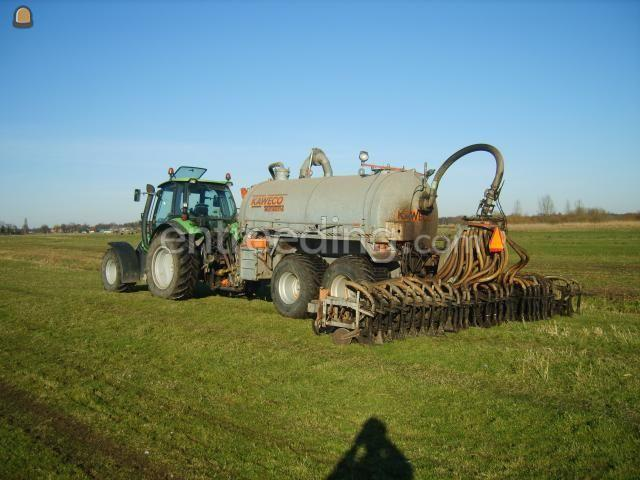 Tractor + bemester kaweco tank + bemester