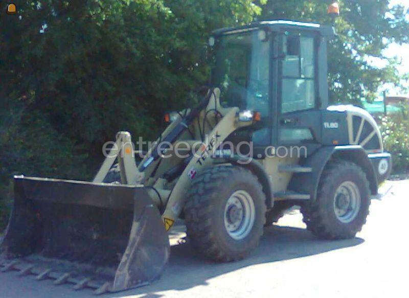 Wiellader / shovel Terex TL80