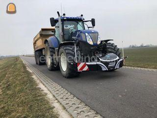 New Holland T7-220+VGM ZK... Omgeving Alkmaar