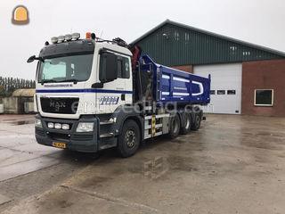M.A.N. 8x4 knijper contai... Omgeving Alkmaar