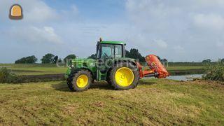 Tractor + klepelmaaier Omgeving Alkmaar