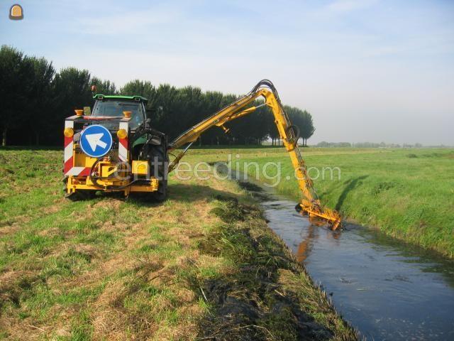 Tractor + maaikorf Deutz Agrotron TTV 1160 + Herder/ maaikorf