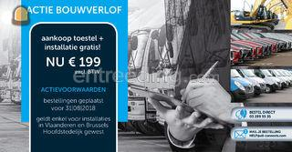Actie bouwverlof Track & ... Omgeving Antwerpen
