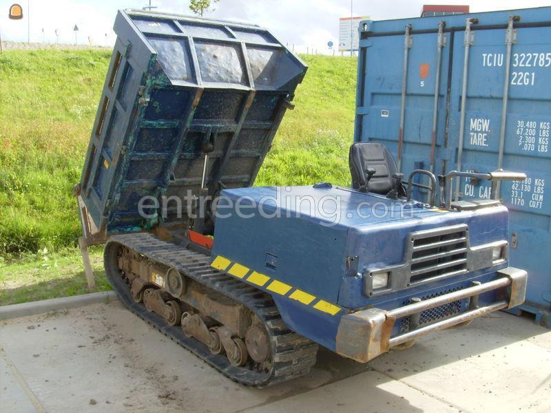 Mini rupsdumper IHI IC30 Dumper 2 m3