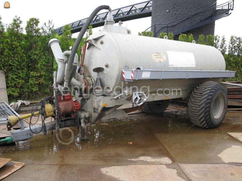 Tractor + waterwagen Case CVX 150
