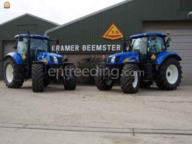 Tractor 2x Newholland 160pk