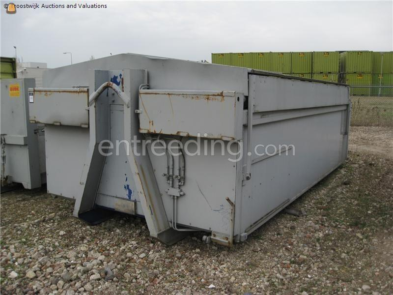 Open containers Container met kleppen