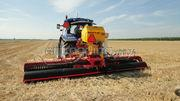 Tractor + zaaimachines Vredo 5.8m breed