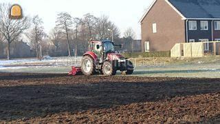 Tractor + grondfrees Omgeving Meppel