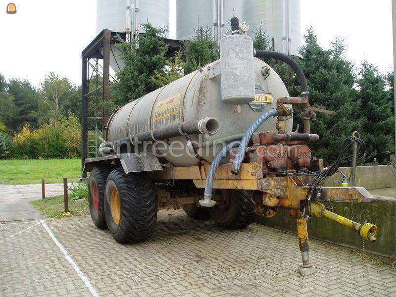 Waterwagen 8 m3