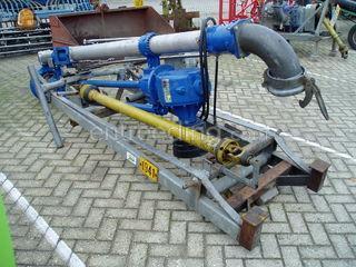 Tractor + pompen Omgeving Kempen