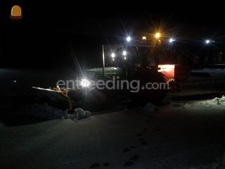 Smalspoortrekker + sneeuw... Omgeving Culemborg
