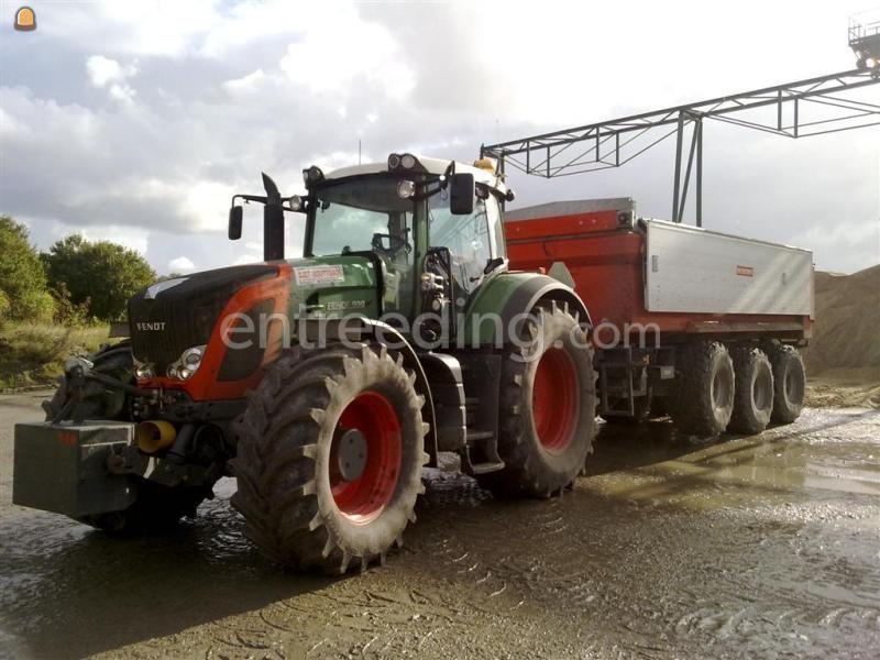 Tractor + kipper Fendt 930(60km/h) + 20m3 VGM kipper