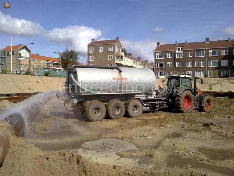 Tractor + waterwagen fendt 930(60km/h) + 27m3 tank