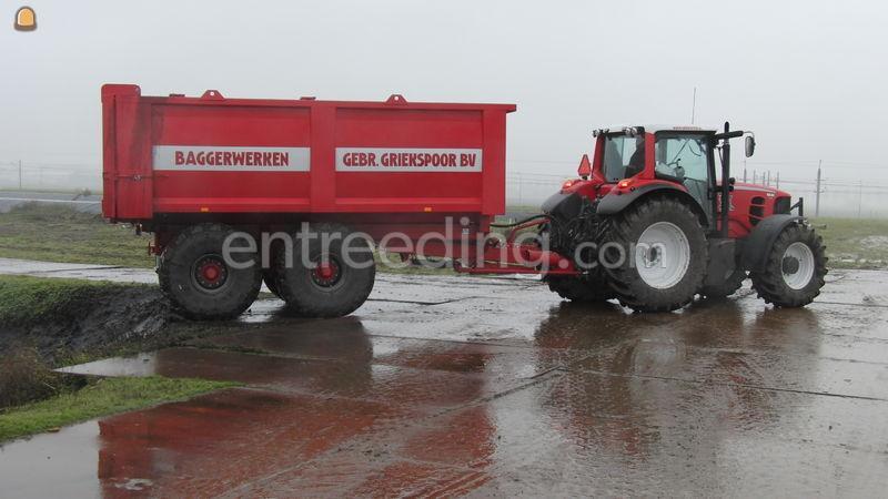 Tractor + kipper Baggerkieper 19m³