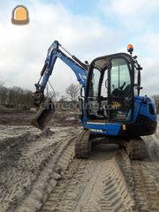 Minigraver 3.5 tons Omgeving Hilversum