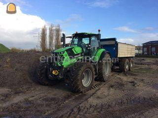 trekker 185 pk + dumper 1... Omgeving Hilversum