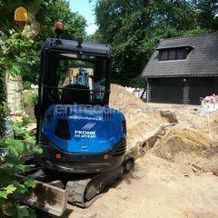 Minigraver 2.5t Omgeving Hilversum