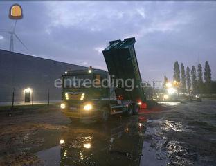 MAN tgs 33.500 met contai... Omgeving Herentals, Turnhout
