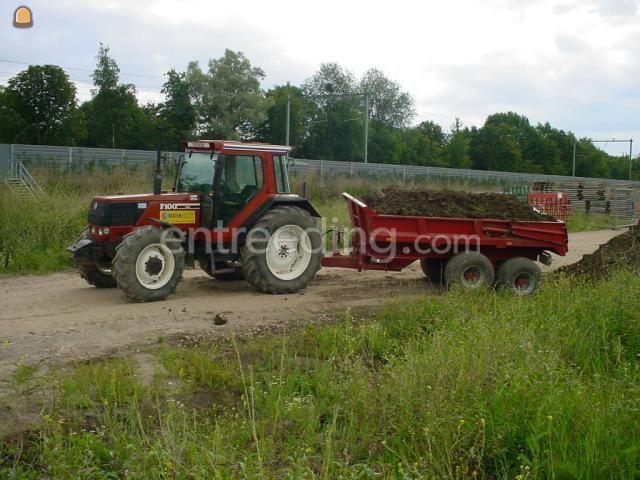 Tractor + kipper Fiat F100