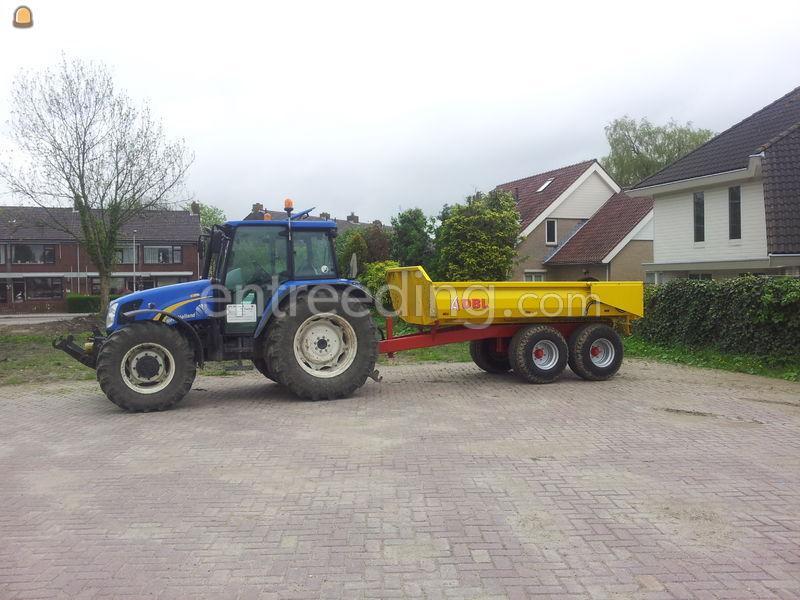 Tractor + kipper tractor+ dumper 8 ton