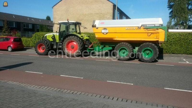 Claas Ares 697+Beco Maxxim 240