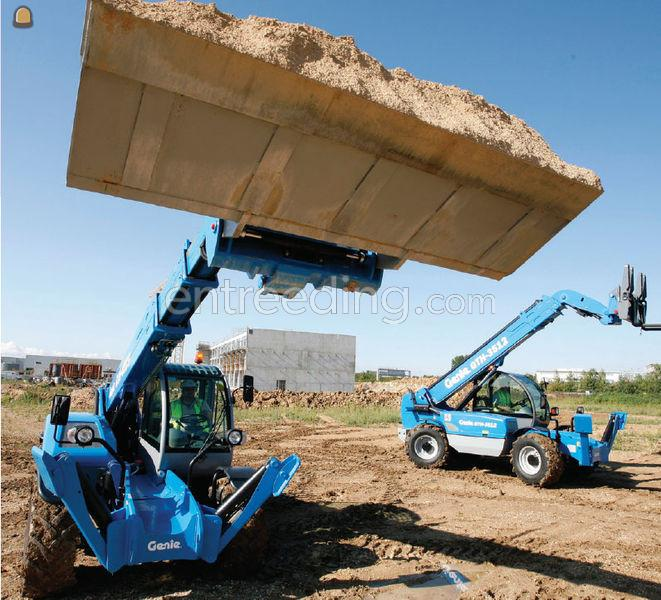 Genie Verreiker 13 meter tot 4 ton 4x4 diesel