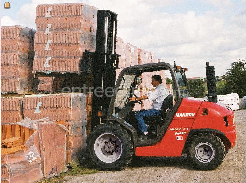 Manitou fetruck ruw terrein 2,5 ton