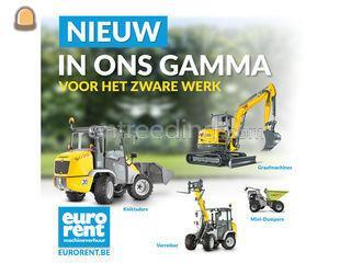 verhuur van bouw- en wege... Omgeving Antwerpen
