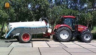 Case tractor met watertan... Omgeving Zaanstreek