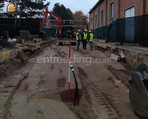 Rioleringsploeg - wegenis... Omgeving Mechelen