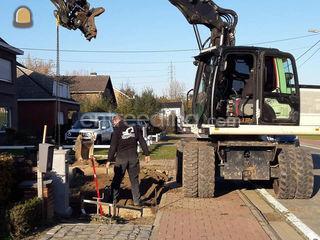 Verhuur van graafmachines... Omgeving Mechelen