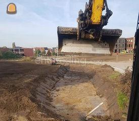 Uitgraven vijvers Omgeving Mechelen